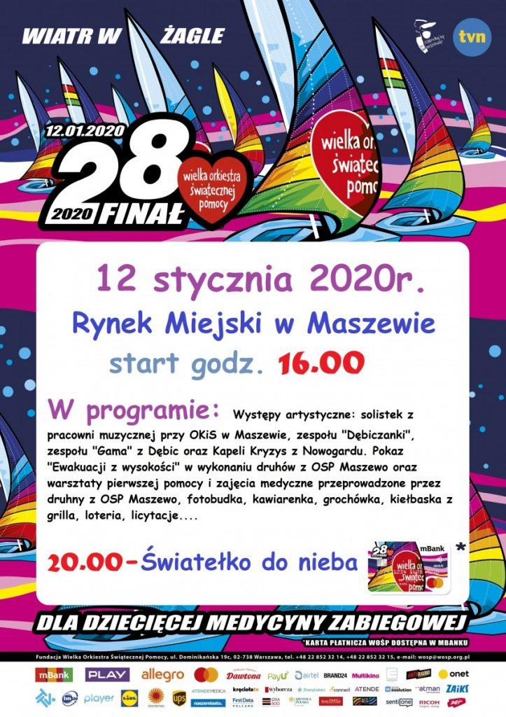 28 Finał WOŚP w Maszewie